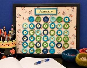 вечный календарь хенд мейд