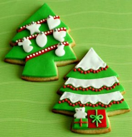 тесто для новогоднего печенья, гтовим новогоднее печенье, праздничный стол