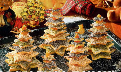 праздничное печенье, празничная выпечка