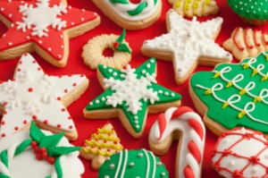 новогоднее печенье
